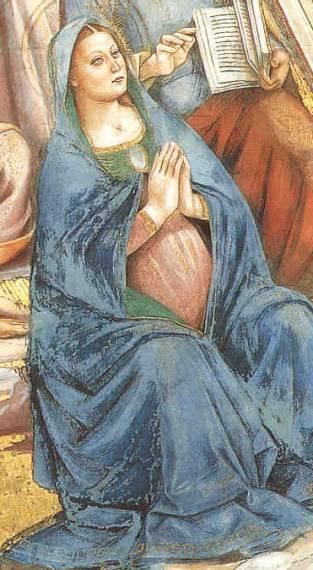 Marie Vergine incinta, un'immagine non comune anche se non rara, ce ne sono, ma in questa immagine Maria è in una fase avanzata di gravidanza (vedete il sito c'è spiegato meglio) dans Maria Vergine 490_43_Appareconunainci